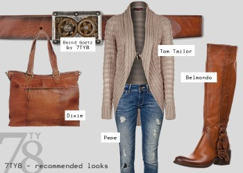 Fashion Look - Golden October