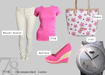 Fashion Look - Pink Lady