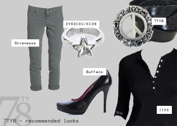 Fashion Look - Urban Grey