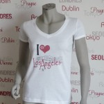 Städte Shirt Los Angeles -7TY8 I LOVE-Collection 'Los Angeles'