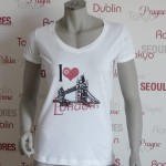 Städte Shirt London -7TY8 I LOVE-Collection 'London'