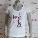 Städte Shirt New York -7TY8 I LOVE-Collection 'New York'