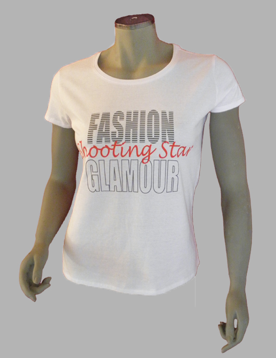 7TY8 Damen T-Shirt 'shooting star'